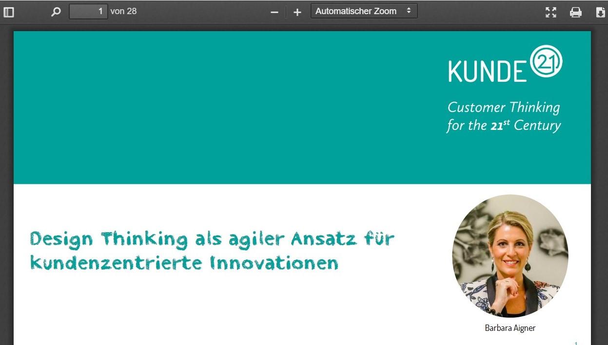 Design Thinking Onlinekurs